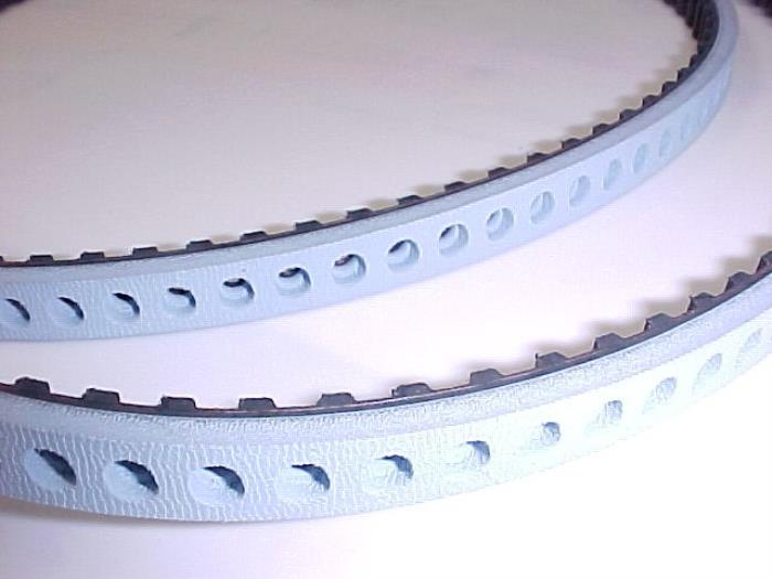 Vaccum Belt blue