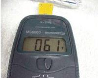 Digital Thermometer Reading